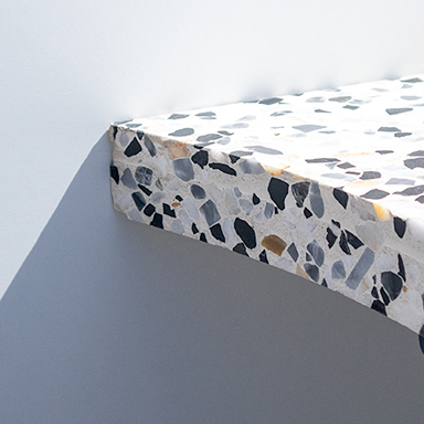 Black and White Terrazzo Furniture