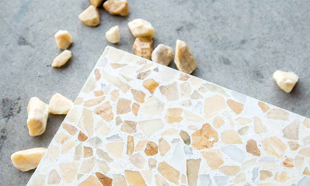 Yellow marble chips 7-15 mm, Terrazzo Marble 10