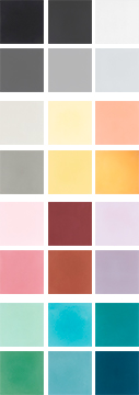 Cement colours  - background