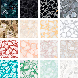 Marble colours