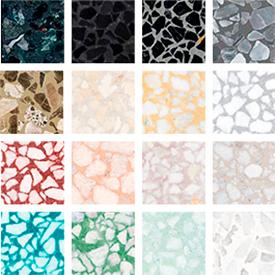 Colores de mármol
