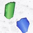 Marble 5, decoratieve kristallen insluitsels